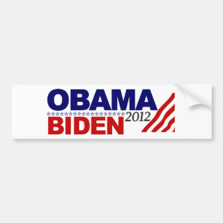 Re-Elect Obama Biden 12 Bumper Sticker