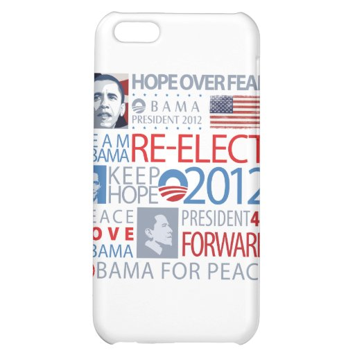 Re-elect Obama Cover For iPhone 5C