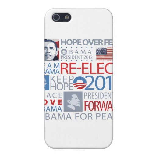 Re-elect Obama Case For iPhone 5