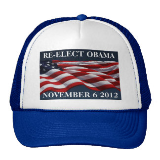 RE-ELECT OBAMA November 6 2012 Cap