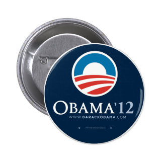 Re-Elect President Barack Obama 2012 6 Cm Round Badge
