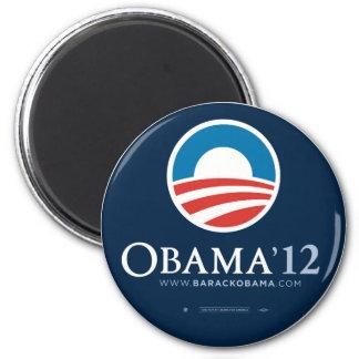Re-Elect President Barack Obama 2012 6 Cm Round Magnet