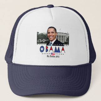 Re-Elect President Obama Election 2012 Gear Trucker Hat