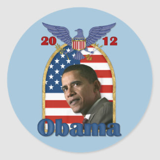 Re-Election Barack Obama for 2012 Stickers
