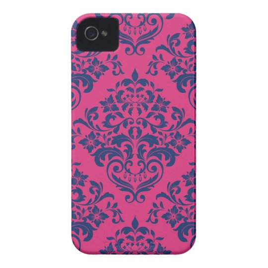Re-FUCHSIA to be Blue Case-Mate iPhone 4 Case