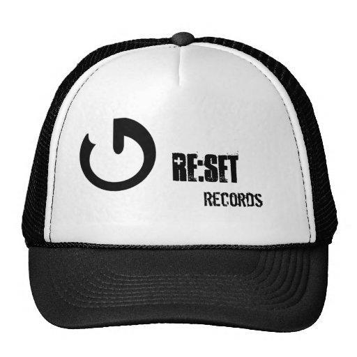 Re:set Records Official Cap Trucker Hat