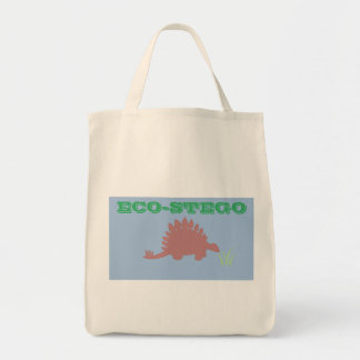 Re-usable Stegosaurus Grocery Bag