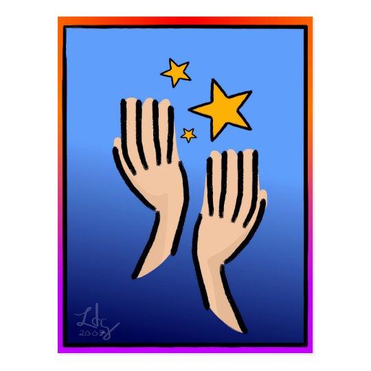 Reach 4 The Stars Postcard