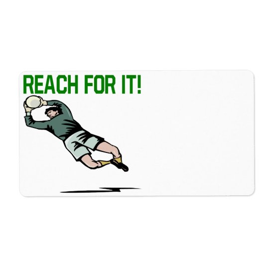 Reach For It Shipping Label