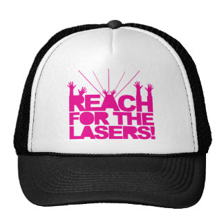Reach For The Lasers Hat