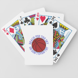 Reach for the Sky Bicycle Poker Deck