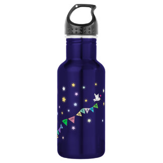 Reach for the Stars Cute Bird Bunting 532 Ml Water Bottle