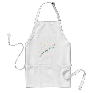 Reach for the Stars Cute Bird Bunting Adult Apron