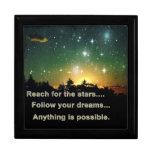 Reach for the Stars Jewellery Box Trinket Box