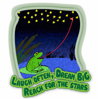 reach for the stars photo sculpture magnet