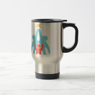 Reach for your dreams stainless steel travel mug