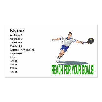 Reach For Your Goals Pack Of Standard Business Cards