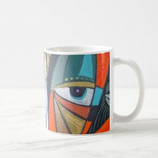 reaching for raven detail 9 mug