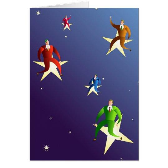 Reaching The Stars Card