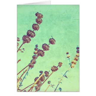 Reaching up greeting card