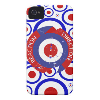 Reaction direction retro mod targets iPhone 4 Case-Mate cases
