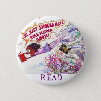 Read 6 Cm Round Badge