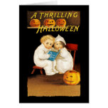 Read a Scary Story Greeting Card
