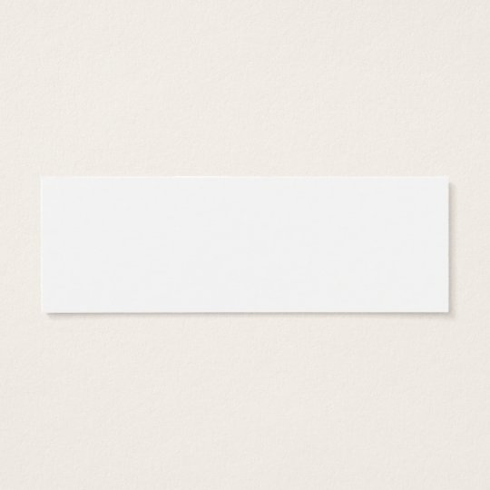 Read and Succeed BOOKMARK Mini Business Card