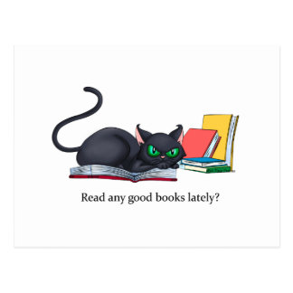 Read any good books lately post card