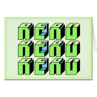 Read - Blocks Greeting Card