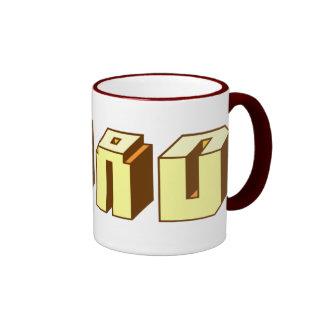 Read - Blocks Ringer Coffee Mug