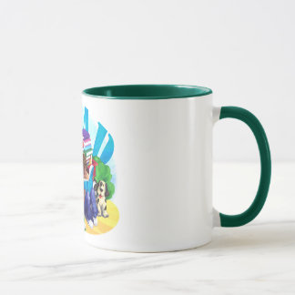 READ Book Wagon Art Mug