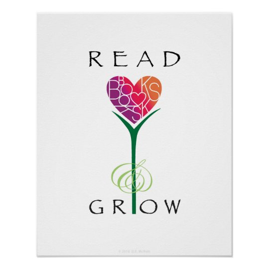 Read Books Grow Poster