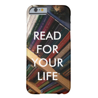 """Read for your life"" phone case"
