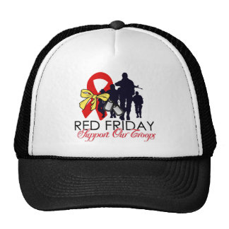 Read Friday - Support Our Troops Cap