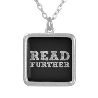 Read Further Necklace
