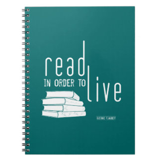 Read In Order To Live Notebooks