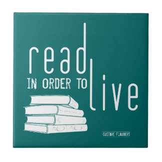 Read In Order To Live Tile