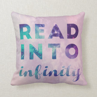 Read Into Infinity Cushion
