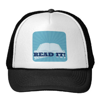 Read It! Instant  Book Promotion Cap