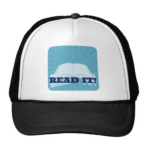 Read It! Instant  Book Promotion Mesh Hats