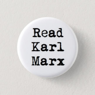 Read Karl Marx 3 Cm Round Badge