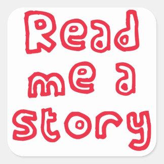 Read me a story! sticker