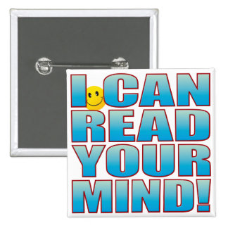 Read Mind Life B 15 Cm Square Badge
