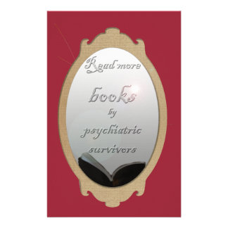 Read more books by psychiatric survivors personalised stationery