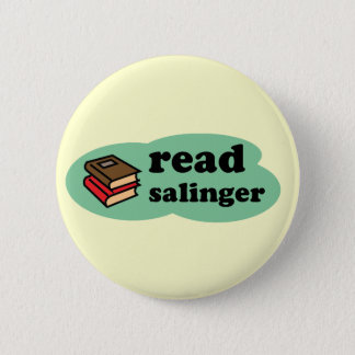Read Salinger 6 Cm Round Badge