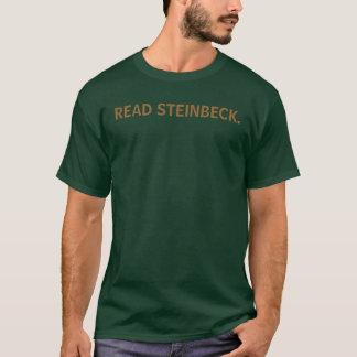 READ STEINBECK. T-Shirt