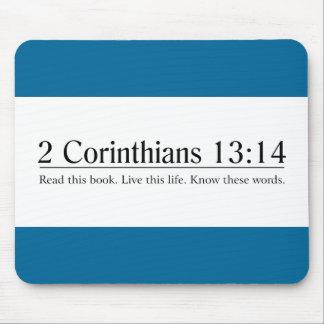 Read the Bible 2 Corinthians 13:14 Mouse Pad