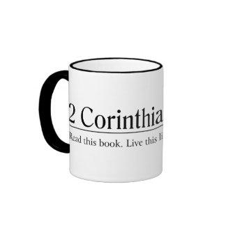 Read the Bible 2 Corinthians 13:14 Ringer Coffee Mug