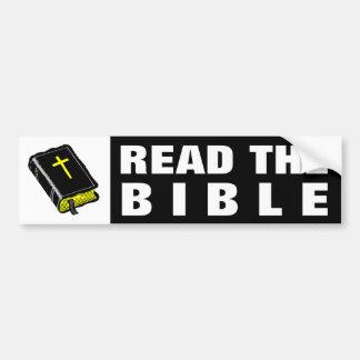 Read the Bible Bumper Sticker